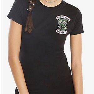 Black Riverdale Southside Serpents shirt